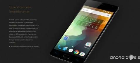 comprar el OnePlus 2 sin invitaciones