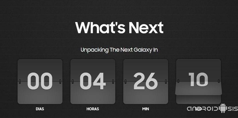 Cuanta atrás evento Samsung Galaxy Note 5