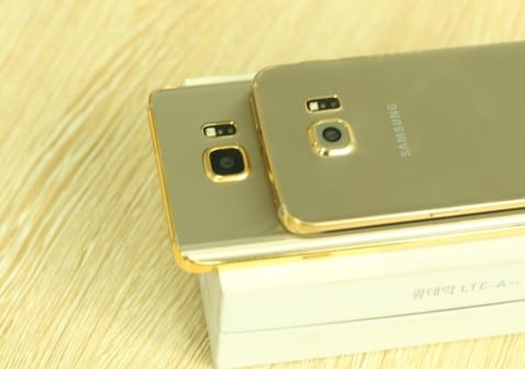 galaxy note 5 de oro