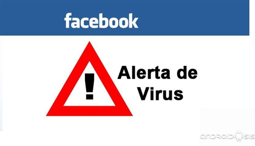 Alerta de virus que entra por Facebook
