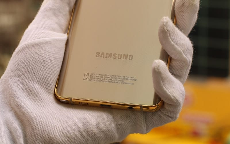 samsung galaxy note 5 de oro