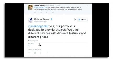 Twitter Motorola