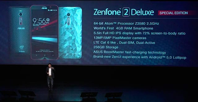 Zenfone 2 256 GB