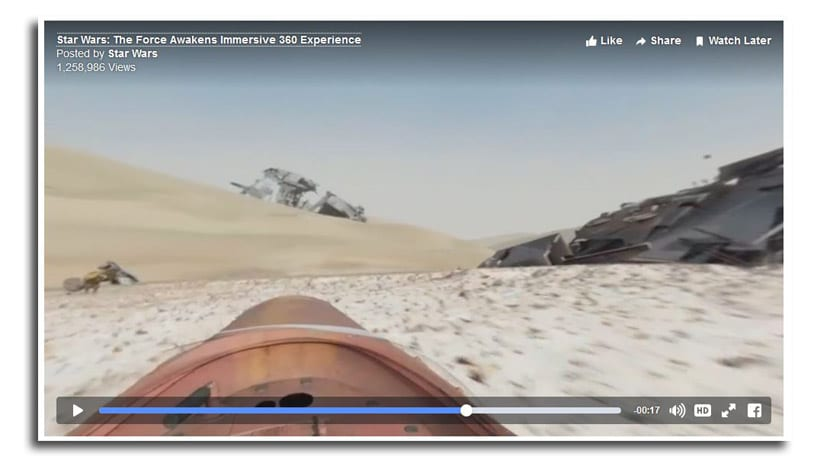 360 grados video
