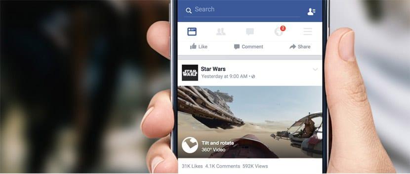 Facebok 360 grados