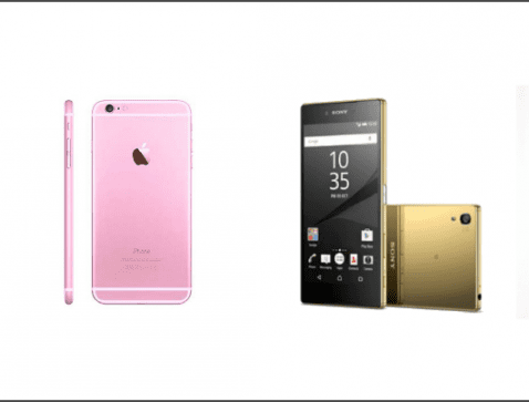 Apple iPhone 6s Plus VS Sony Xperia Z5 Premium