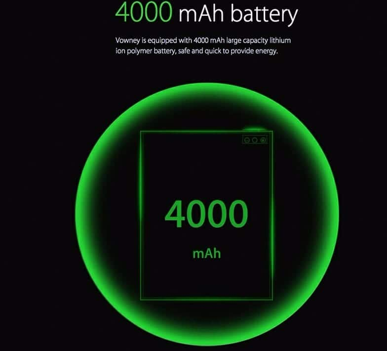 elephone vowney bateria
