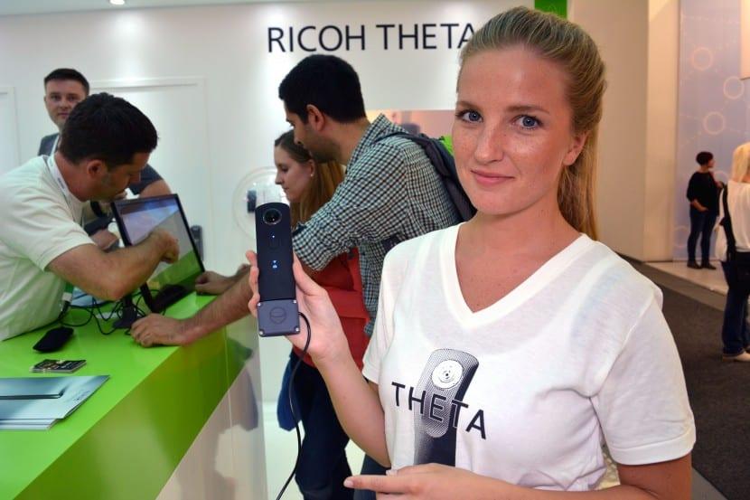 Ricoh Theta S 2