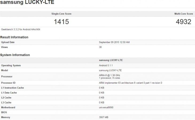 Samsung S7 Exynos 8890