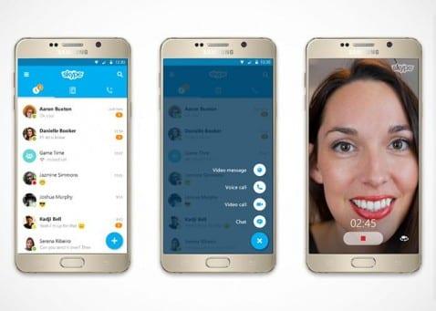 Skype Material Design