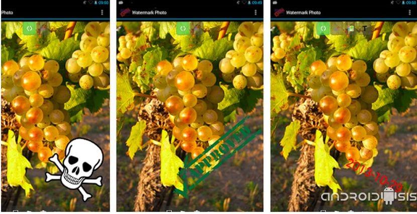 Cómo poner marcas de agua a las fotografías desde tu Android