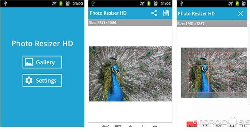 Cómo redimensionar imágenes de forma masiva en Android