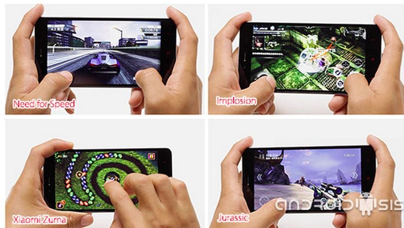 Xiaomi Redmi Note 2 juegos