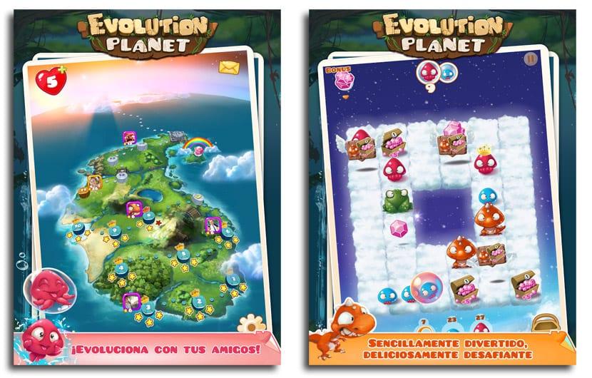 Evolution Planet
