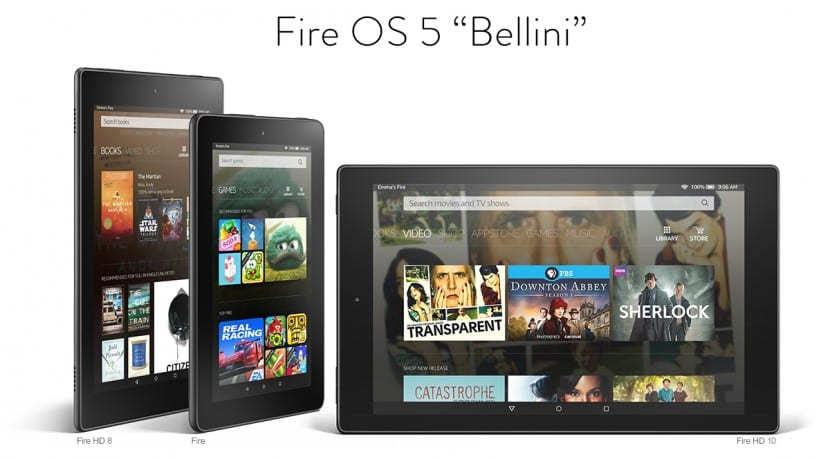 nuevas amazon kindle fire
