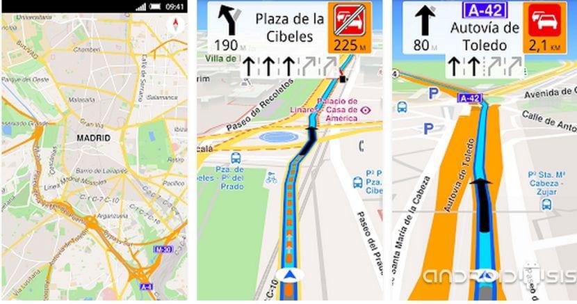 Magic Earth GPS para Android