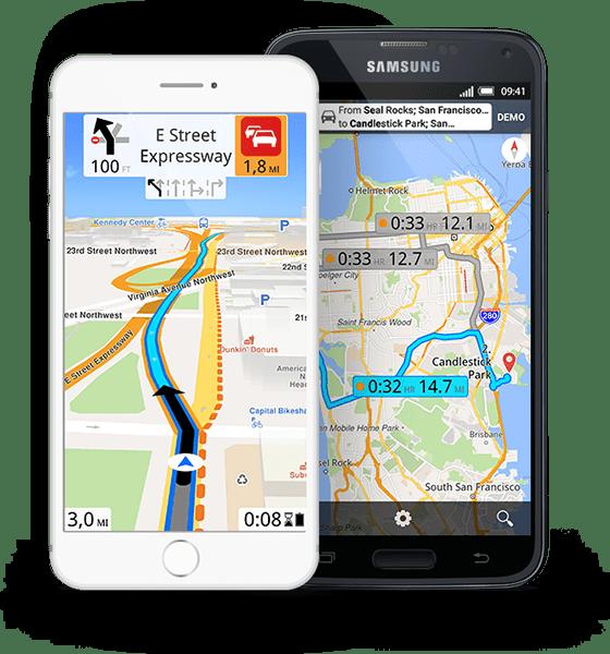 Magic Earth para Android e iOS