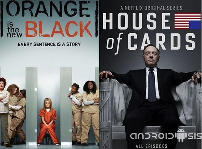 House of Cards y Orange is the New Black