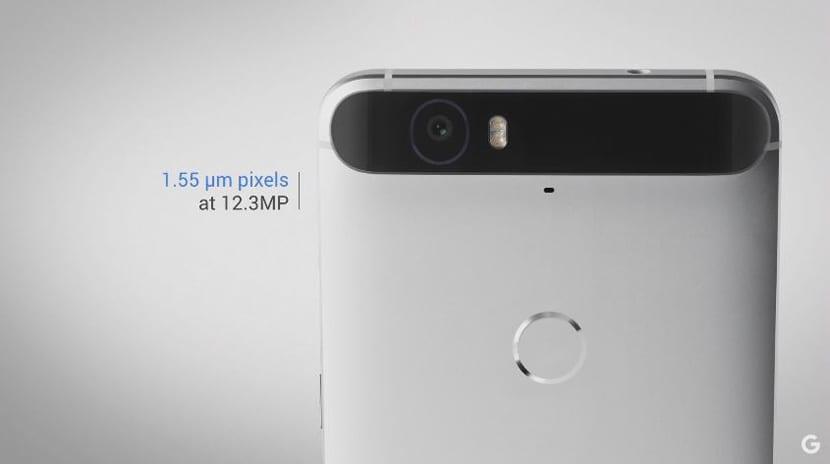 Nexus 6P cámara