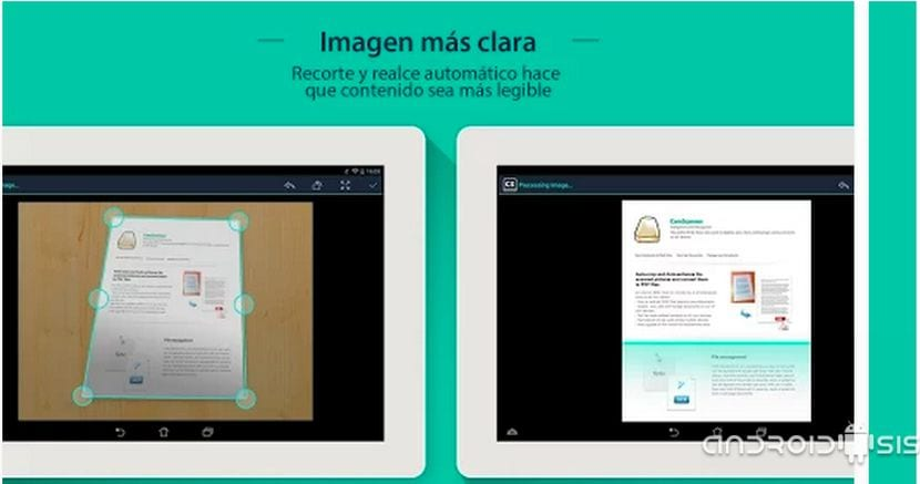 Office Lens, para mi una de las peores Apps Scanner Android