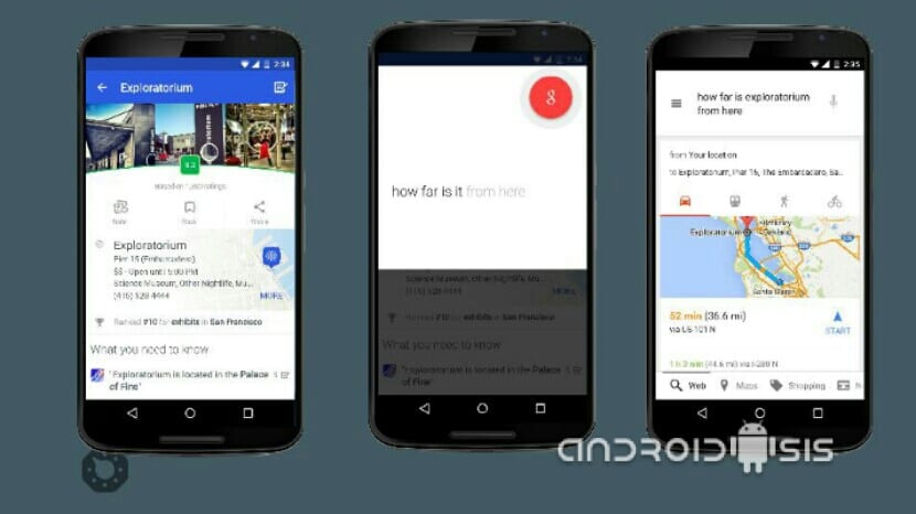 ¿Qué es y como funciona Google Now On Tap?