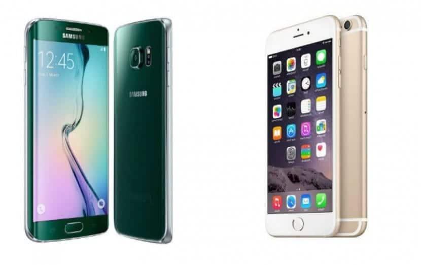 samsung galaxy s6 edge+ iPhone 6s Plus