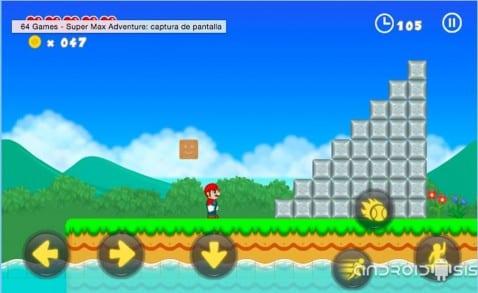 Super Mario Bros para Android sin necesidad de emulador