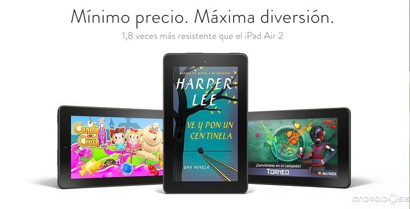 """Todo lo que necesitas saber de la nueva tablet Fire de Amazon de 7"""""""