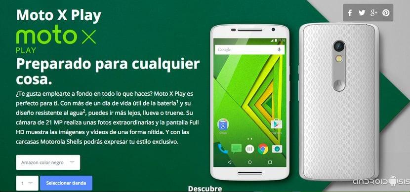 Comprar Moto X Play