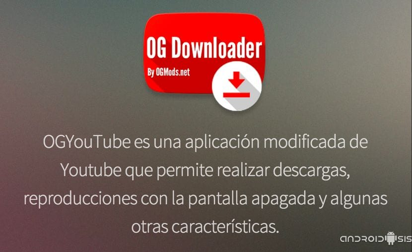 Página oficial OG Youtube Downloader