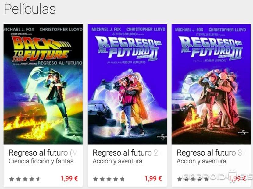 Comprar la saga de Regreso al futuro por tan solo 4,99 euros cada parte