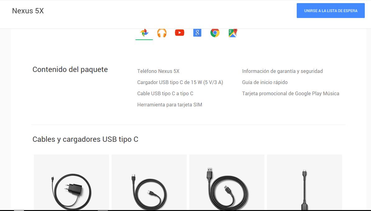 nexus 5x cable
