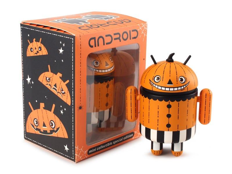 android halloween muñeco