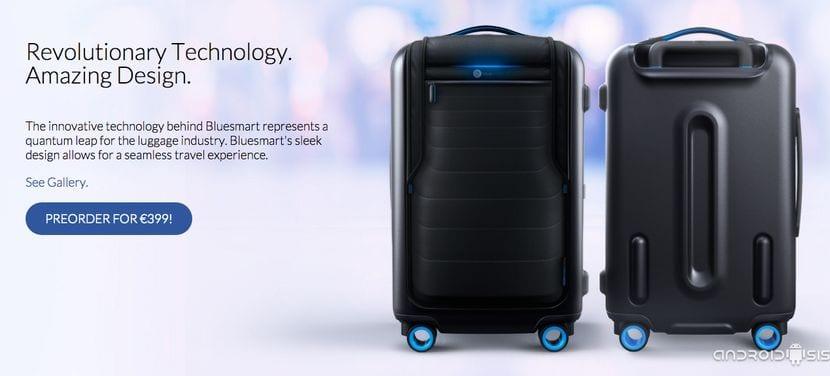 Precio BlueSmart maleta inteligente