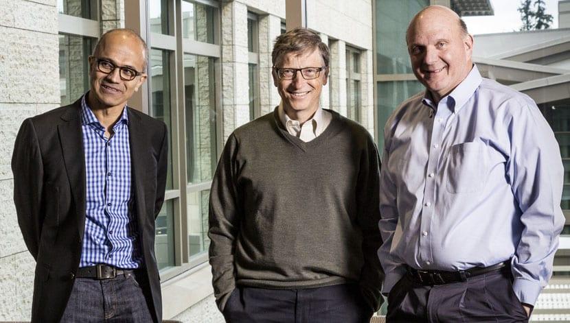 Microsoft CEOs
