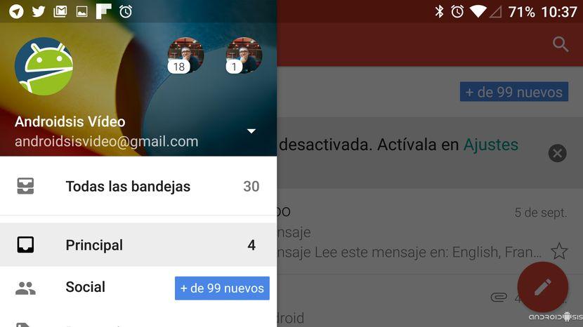 Tutoriales básicos Android: Hoy, como enviar un correo electrónico con Gmail