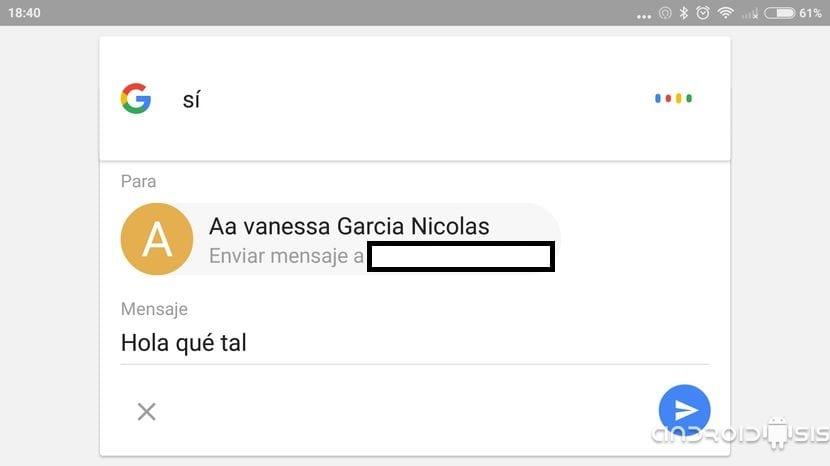 Cómo enviar WhatsApp con la voz gracias a Google Now
