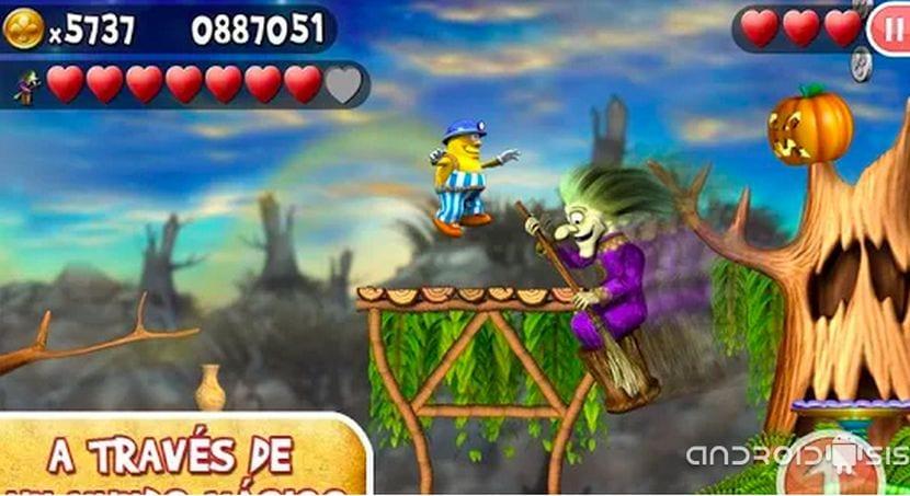 Increíble Jack, un sensacional juego plataforma para Android por tan solo 0,10 euros
