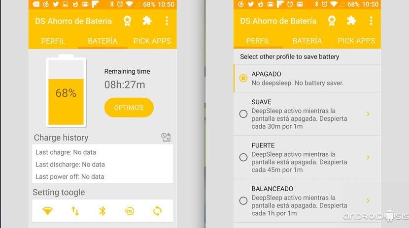 La mejor App para ahorrar batería en Android