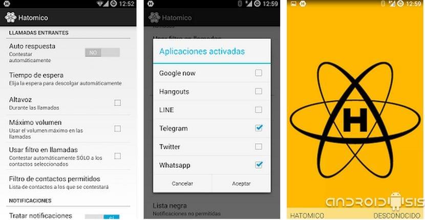 HATOMICO, la aplicación que te lee en voz alta los WhatsApp recibidos, Hangouts, Telegram y Line y es totalmente gratuita