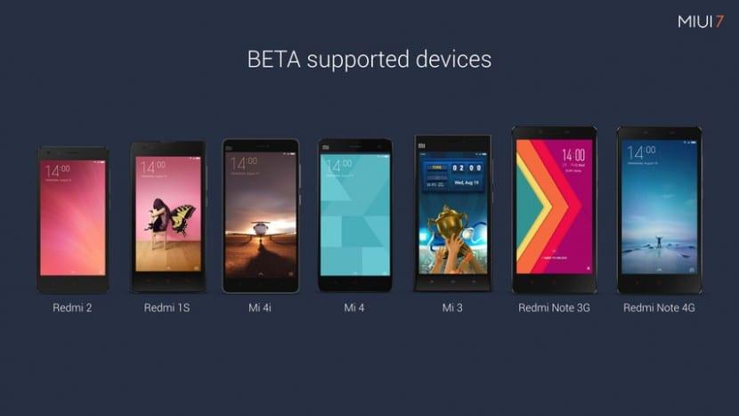 miui7 smartphones compatibles