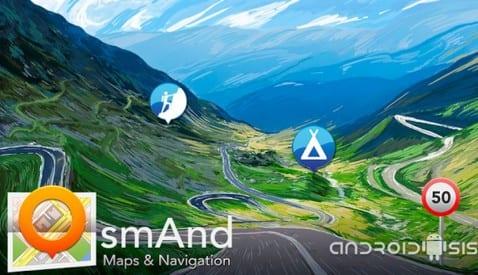 OsmAnd Mapas y Navegación puerta a puerta totalmente gratuito y sin necesidad de conexión de datos