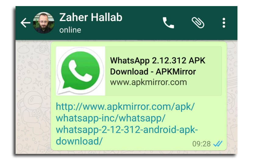 WhatsApp URL