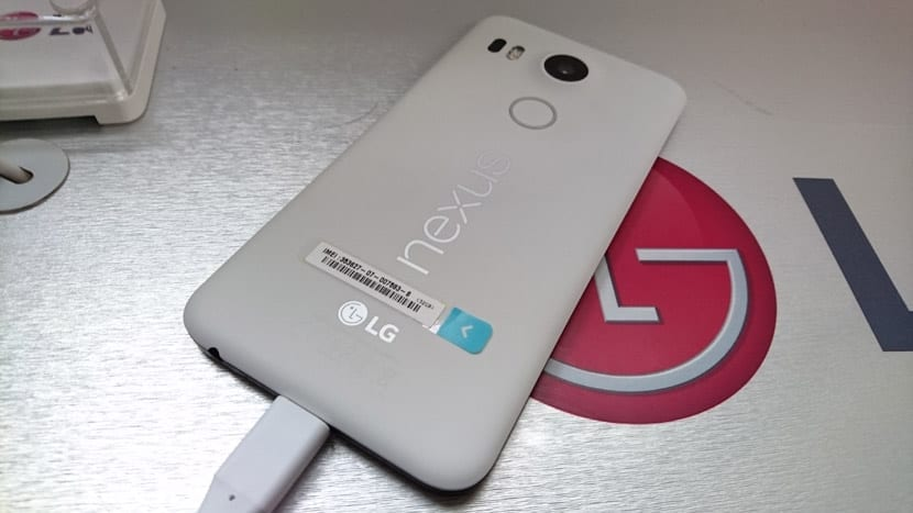 Nexus 5X cámara