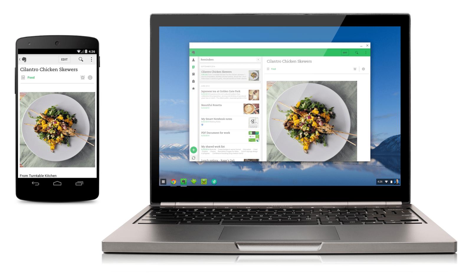 Android ChromeOS