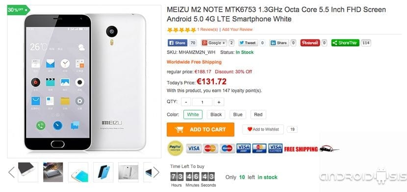 Meizu en el Black Friday