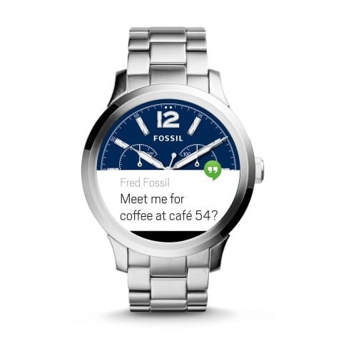 fossil android wear