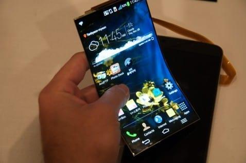 lg oled smartphone