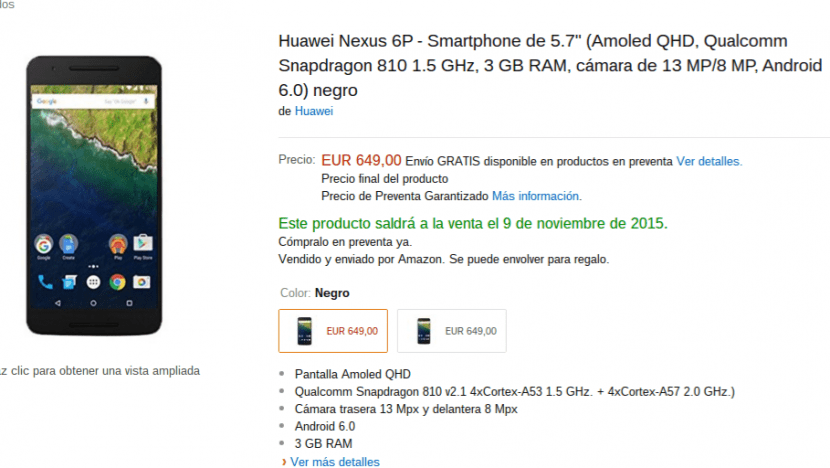 Nexus6P Amazon