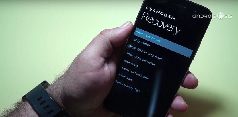 Recovery Cyanogen en el ZUK Z1